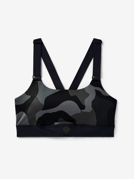 Under Armour Rush Mid Camo Bra
