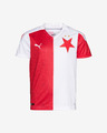 Puma SK Slavia Home Replica Jr Kids T-shirt