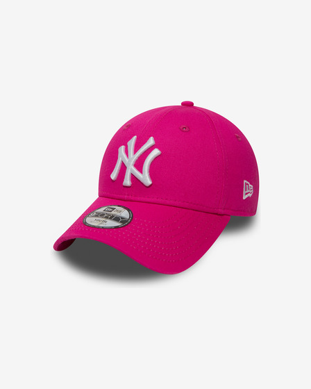 New Era NY Yankees Essential Kids Pink 9Forty Kids Cap