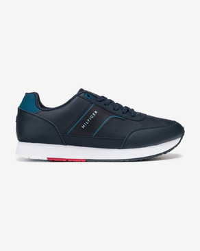 Tommy Hilfiger Corporate Leather Runner Sneakers