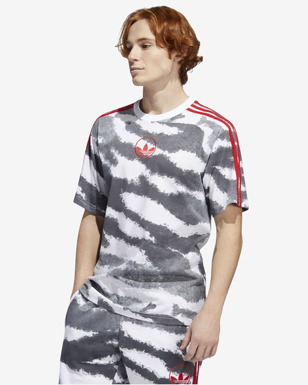 adidas Originals Zebra Allover Print T-shirt