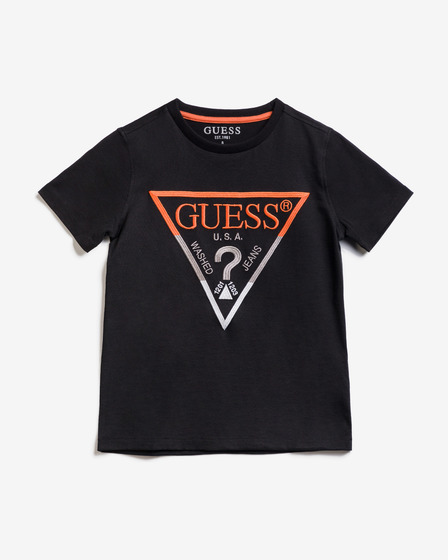 Guess Embroidery Front Logo T-shirt