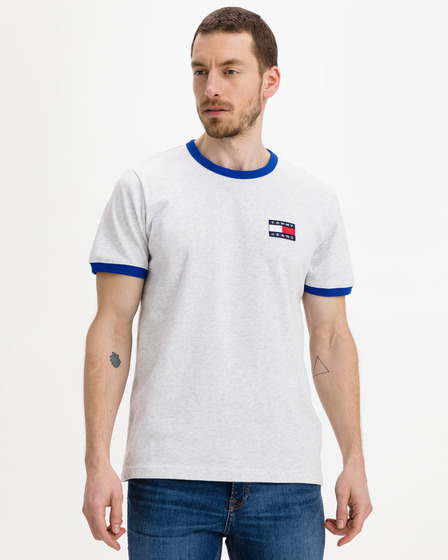 Tommy Jeans Badge Ringer T-shirt
