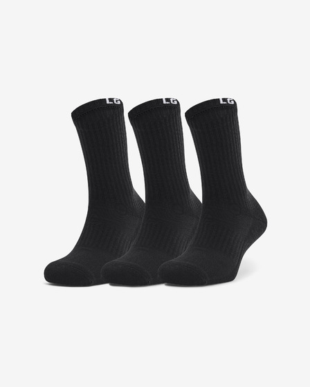 Under Armour Core Crew Set of 3 pairs of socks