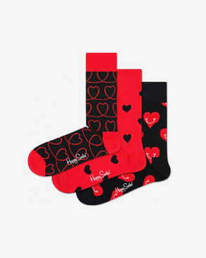 Happy Socks I Love You Set of 3 pairs of socks