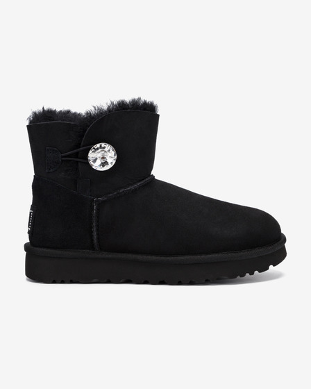UGG Mini Bailey Button Bling Snow boots