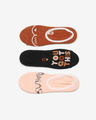 Vans Breast Cancer Awareness Set of 3 pairs of socks