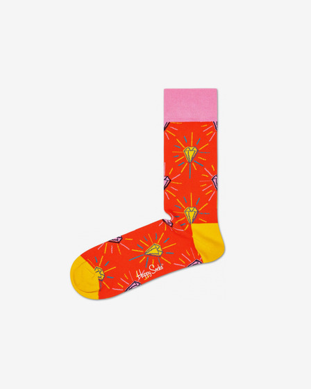 Happy Socks Pink Panther Pink Plunk Plink Socks