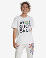 Desigual Love Your Self T-shirt
