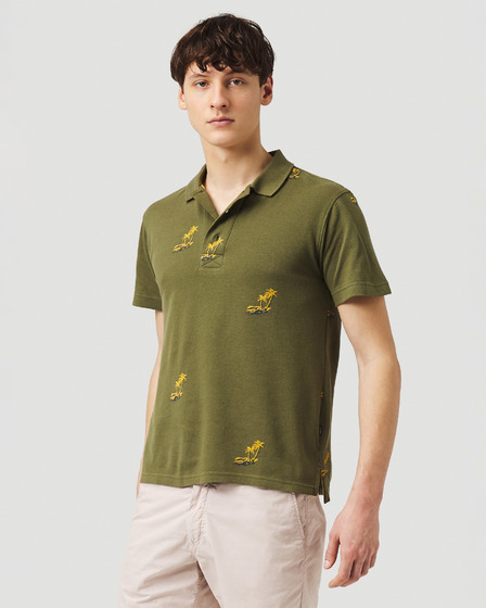 O'Neill Palm All Over Polo T-shirt