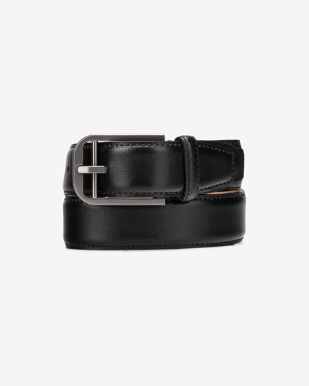 Calvin Klein Double Bar Buckle Belt