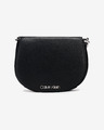Calvin Klein Chain Saddle Handbag