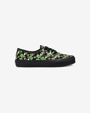 Vans The Simpsons Glow Bart Authentic Kids Sneakers