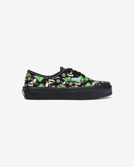 Vans The Simpsons Authentic Glow Bart Kids Sneakers