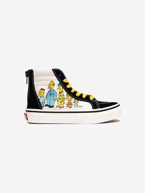 Vans The Simpsons Sk8-Hi 1987-2020 Kids Sneakers