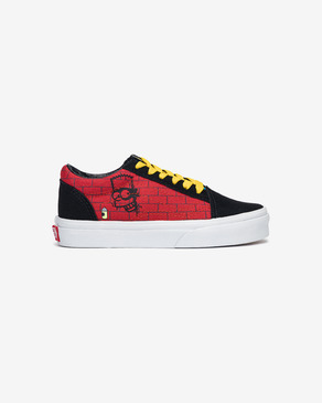 Vans The Simpsons Old Skool El Barto Kids Sneakers