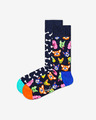 Happy Socks Dog Gift Box Set of 2 pairs of socks